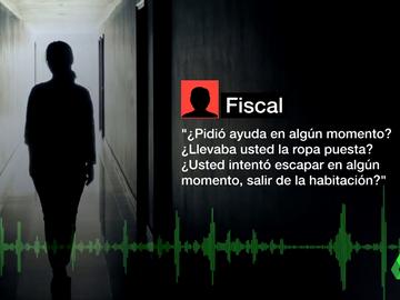 """El duro interrogatorio del fiscal a la víctima de la violación de la 'Manada de Sabadell': """"¿Está segura de eso?"""""""