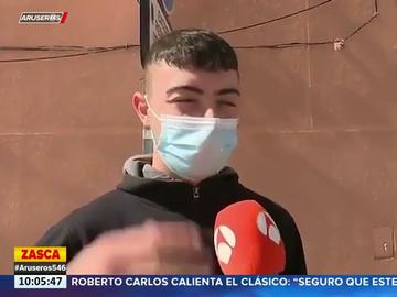 """La respuesta viral de un joven sobre las restricciones en Semana Santa: """"A los chavales solo nos gusta fumar porros"""""""