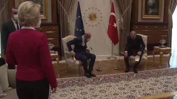 Ursula von der Leyen sufre un desplante por parte de Erdogan
