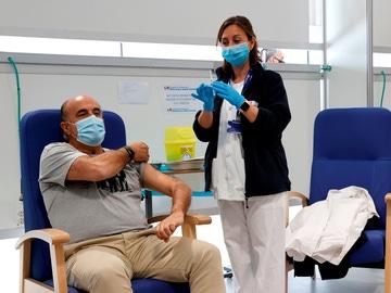 l viceconsejero de Salud Pública y Plan COVID-19 de la Comunidad de Madrid, Antonio Zapatero, acude al Hospital público Enfermera Isabel Zendal, este miércoles