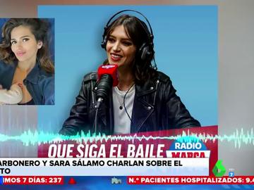 """La conversación de Sara Carbonero y Sara Sálamo sobre la maternidad: """"El 90% de las mujeres se identifica contigo"""""""