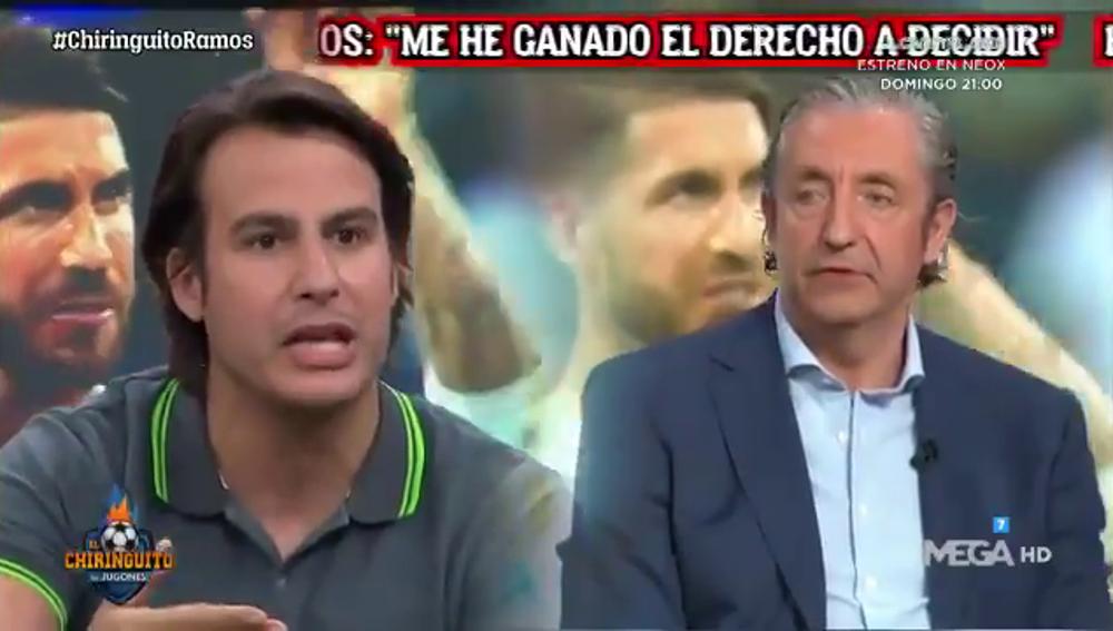 El cara a cara entre Pedrerol y Juanfe Sanz por el caso Ramos: ¿Dinero o años?