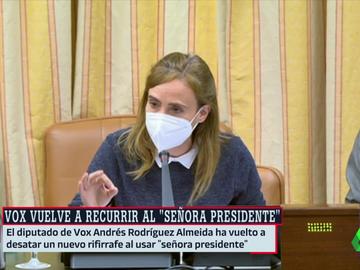 La socialista Sandra Guaita
