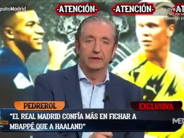 """Pedrerol:""""Doy por hecho que Mbappé jugará en el Madrid la temporad que viene"""