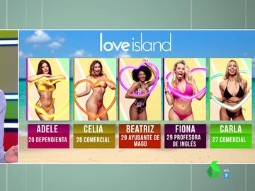 Estas son las cinco chicas que buscarán encontrar el amor en 'Love Island'
