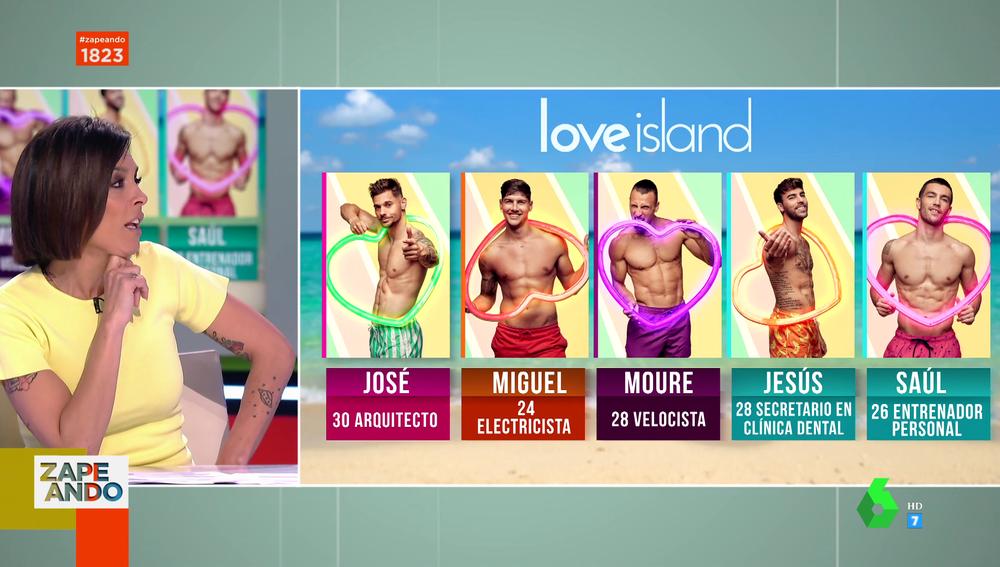 Estos son los cinco chicos que se lanzan a la aventura de 'Love Island'