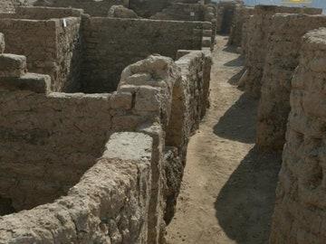 La ciudad perdida hallada en Egipto