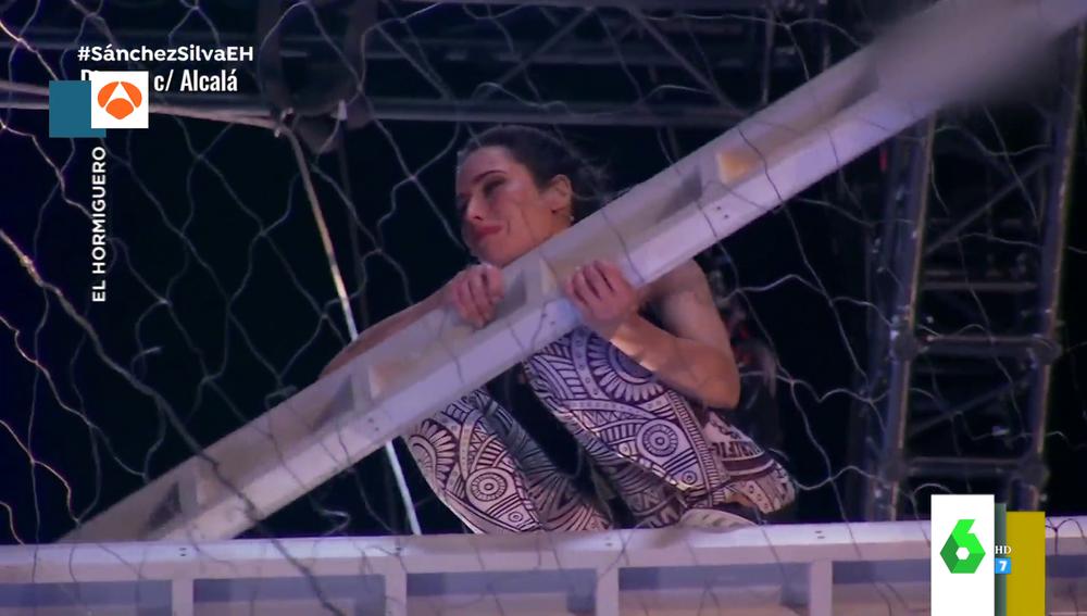 """El tenso momento en el que Pilar Rubio arranca a llorar en el reto más difícil de 'El Hormiguero': """"No puedo"""""""