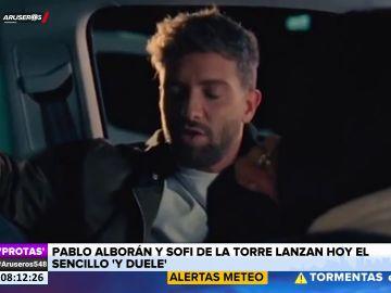 Así suena el nuevo tema de Pablo Alborán y Sofi de la Torre, 'Y duele'
