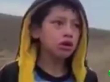niño desierto secuestro