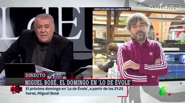 Évole confiesa qué es lo que más le gustó de la entrevista a Miguel Bosé