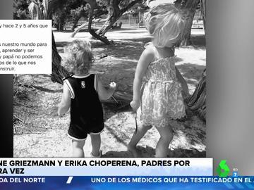 La sorprendente coincidencia en el nacimiento de los tres hijos de Antoine Griezmann