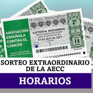 Sorteo Extraordinario Lotería Nacional de la AECC del 10 de abril: horarios y dónde ver
