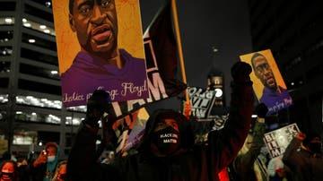 Manifestación en Minneapolis en protesta por la muerte de George Floyd