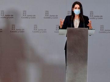 Inés Arrimadas comparece en la Junta de Castilla y León