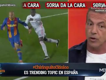 """Cristóbal Soria se rinde ante el Real Madrid en 'El Chiringuito': """"Compiten como nadie"""""""