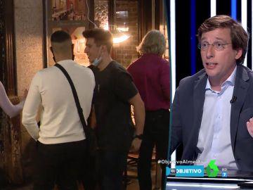"""Almeida responde a las críticas por las imágenes de franceses haciendo botellón: """"En el resto de España también hacen turismo de borrachera"""""""