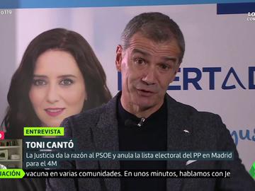 """Toni Cantó arremete contra Ciudadanos: """"No hay peor enemigo del partido que la dirección actual"""""""