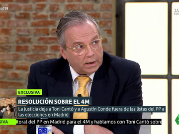 """La advertencia de Antonio Miguel Carmona: """"Probablemente hay una tercera persona en la lista del PP en situación irregular"""""""