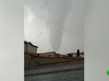 Tornado en España