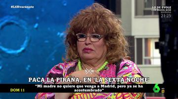 Paca la Piraña en laSexta Noche