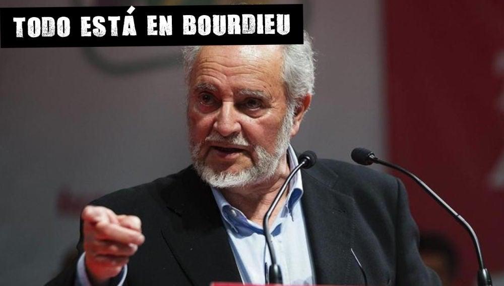 El histórico militante y líder de Izquierda Unida Julio Anguita