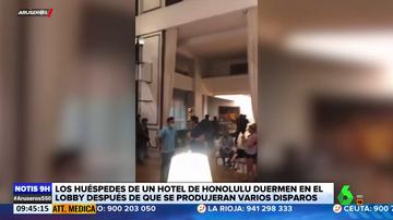 Un hombre se atrinchera en una habitación de hotel y dispara contra todo el personal