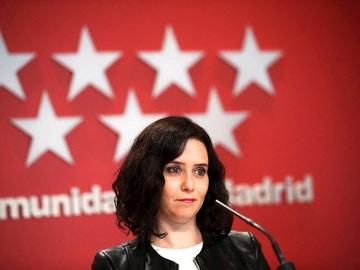 La actual presidenta de la Comunidad de Madrid, Isabel Díaz Ayuso