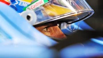 Fernando Alonso, en el A521