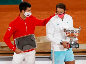 Rafa Nadal y Novak Djokovic