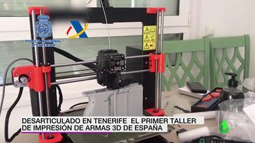 Taller de armas 3D en Santa Cruz de Tenerife
