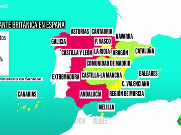 Sí, tener una mayor presencia de la cepa británica del coronavirus en España nos da 'ventajas'