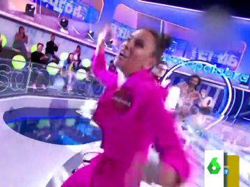 """La eufórica reacción de Cristina Pedroche en el reto musical de 'Pasapalabra': """"Se volvió loca"""""""