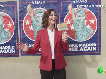 """Así ha sido el 'inicio de campaña' de Isabel Díaz Ayuso, """"la Trump de Chamberí"""": """"Ahora sí España, eres mía"""""""