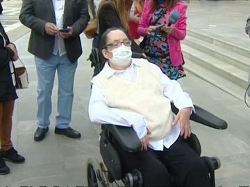 María Isabel, víctima de la violencia machista que quedó tetrapléjica.