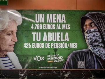El anuncio de Vox que investiga la Fiscalía.
