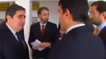 Augusto César Lendoiro y Joan Laporta