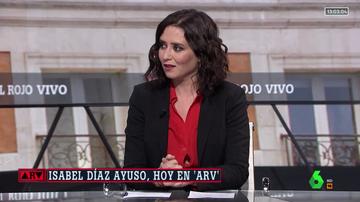 Entrevista a Isabel Díaz Ayuso en ARV