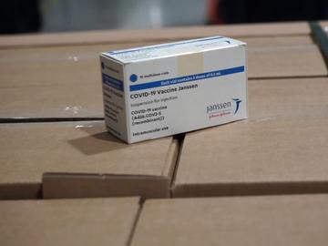 Lote de la vacuna de Janssen que ha recibido España