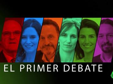 laSexta retransmite hoy el debate de Telemadrid con los seis candidatos a las elecciones de Madrid