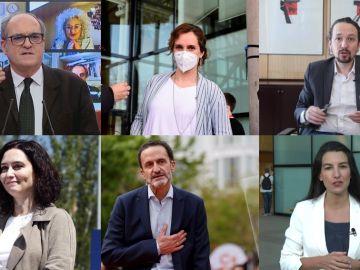 Los candidatos a las elecciones en la Comunidad de Madrid
