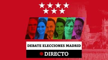 Debate elecciones Madrid: Mejores momentos de Ayuso, Iglesias, Gabilondo, Monasterio, Bal y Mónica García, en directo
