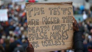 Protesta negacionista
