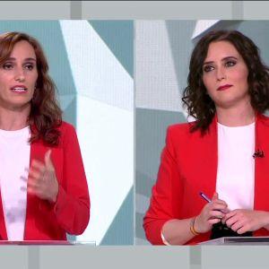 Mónica García Isabel Díaz Ayuso