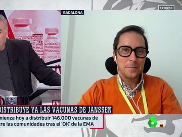 """Al rojo vivo (21-04-21) Un investigador llama a la calma sobre Janssen: """"La incidencia de los trombos es muy baja, se da menos de un caso entre un millón"""""""