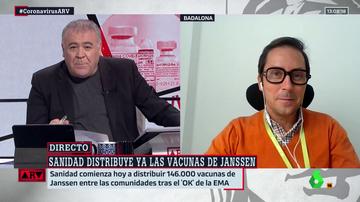 """Un investigador llama a la calma sobre Janssen: """"La incidencia de los trombos es muy baja, se da menos de un caso entre un millón"""""""