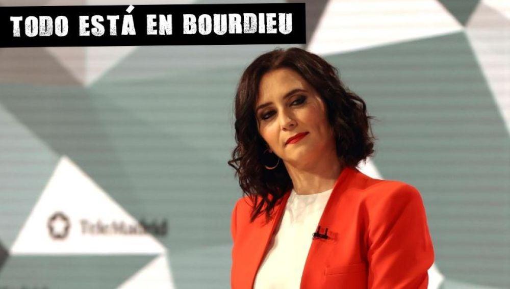 Díaz Ayuso en el primer debate del 4M