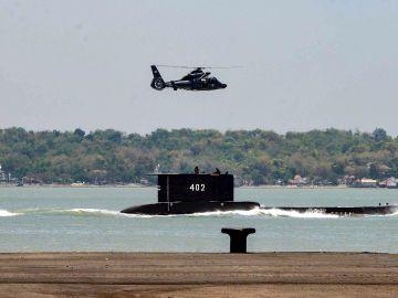 Imagen de archivo del submarino desaparecido