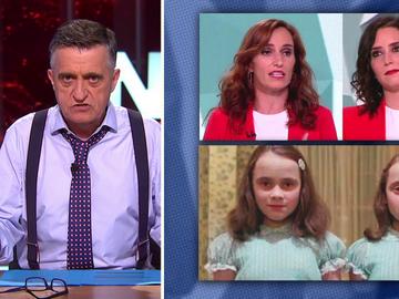 El chiste de Wyoming sobre el idéntico look de Isabel Díaz Ayuso y Mónica García en el debate