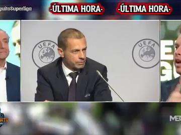 """Amenaza de Ceferin al Real Madrid: """"Hay una posibilidad de que el partido contra el Chelsea no se celebre"""""""